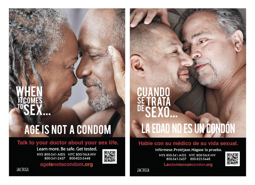 Aids awareness advocacy advertisement